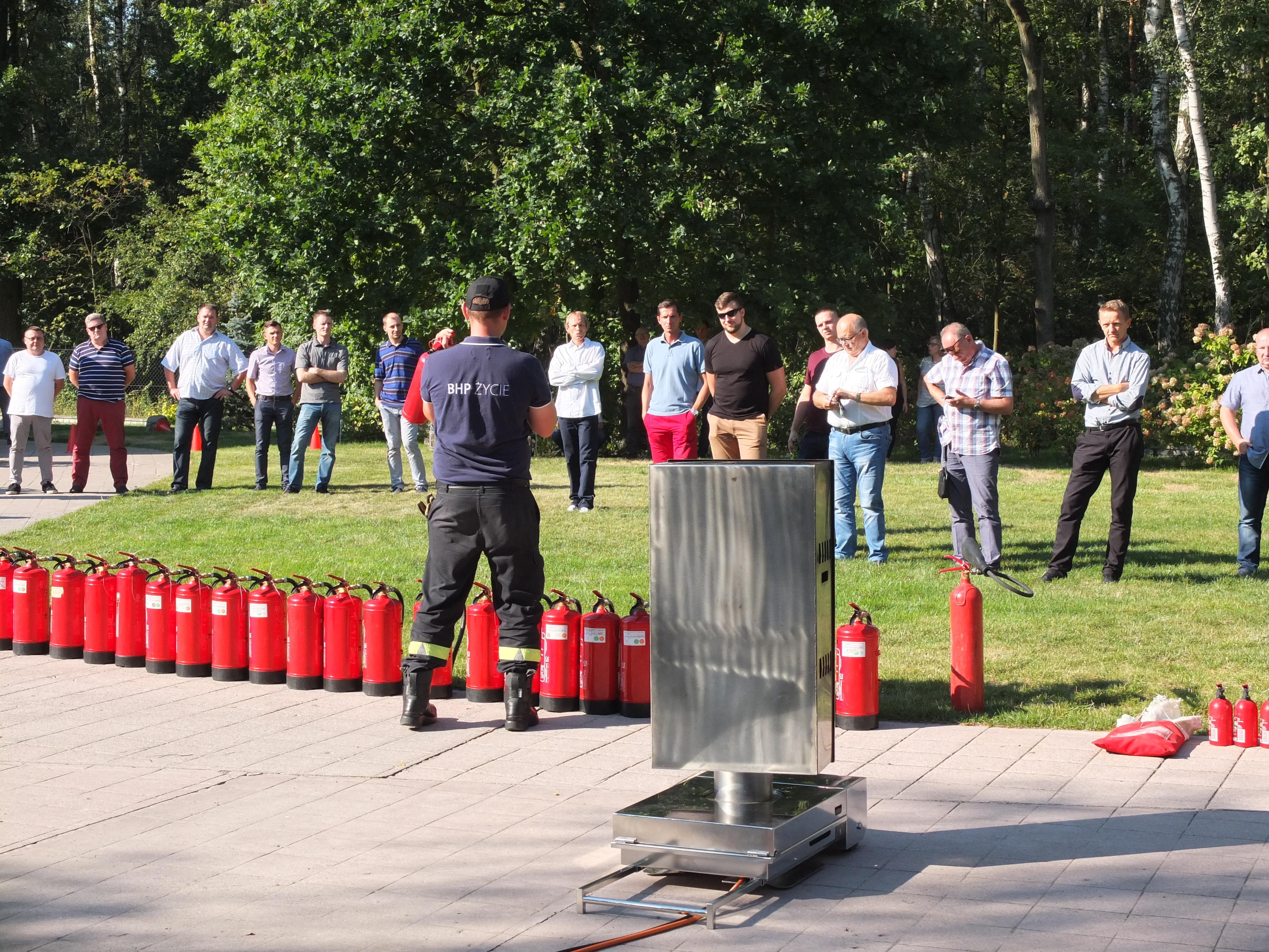 Szkolenie ppoż dla osób wyznaczonych do ewakuacji