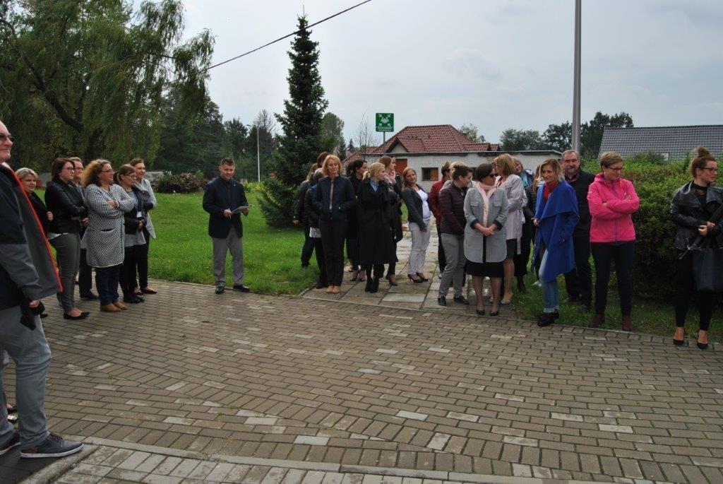 Ewakuacja starostwa w Prudniku