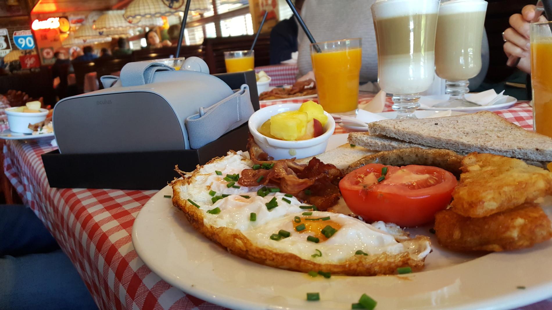 śniadanie, BHP,