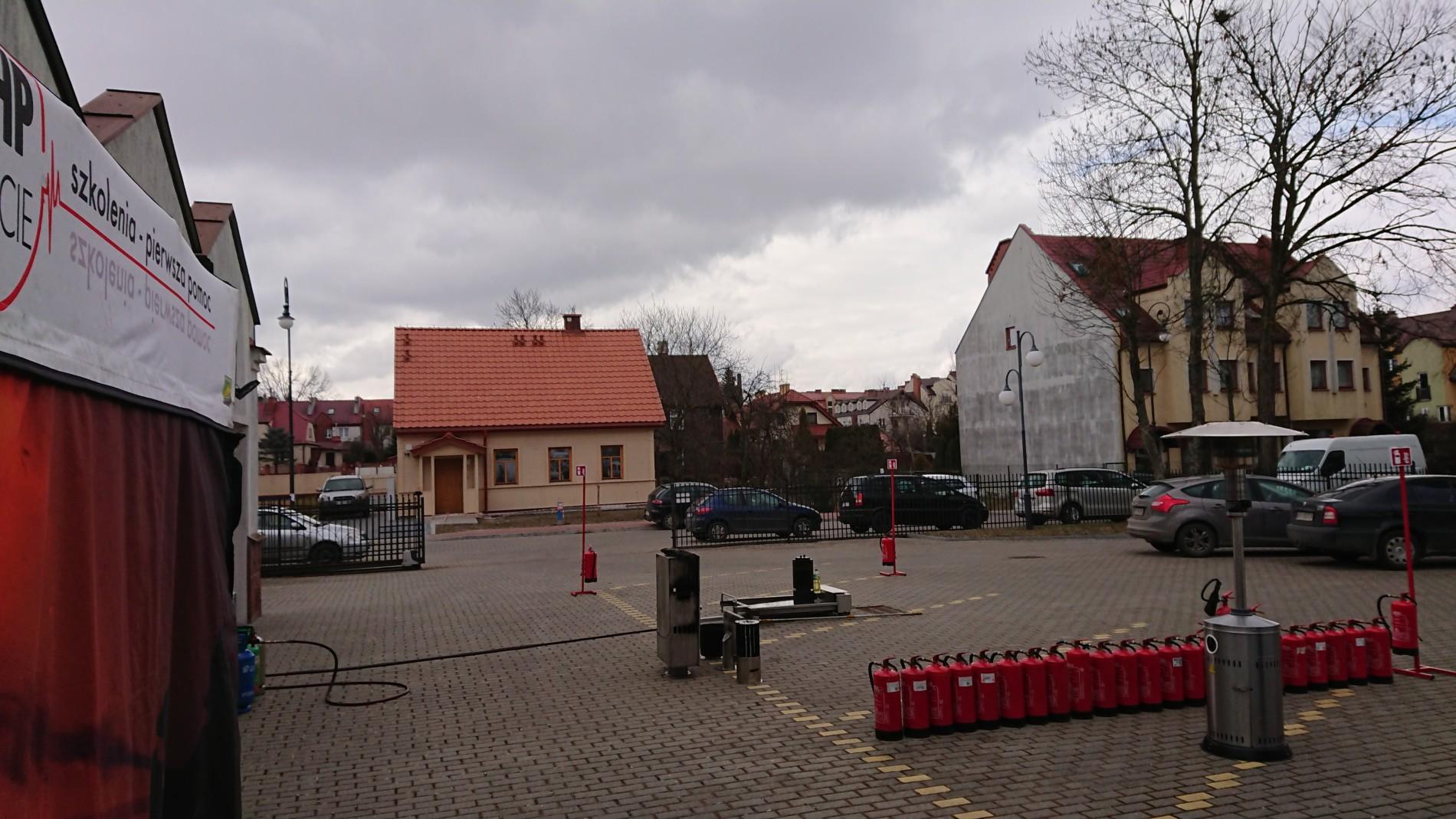 Plac do szkoleń ppoż